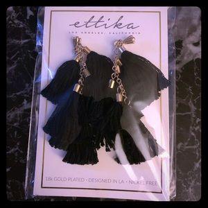 Ettika Tassel Earrings